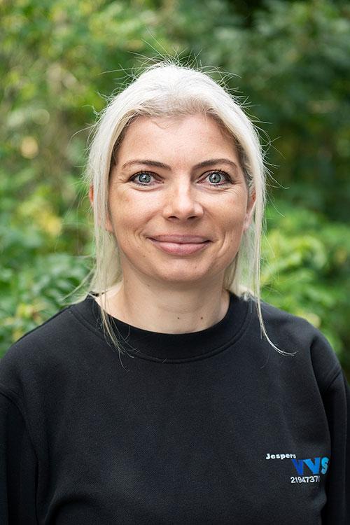 Medarbejder Marie fra Jespers VVS